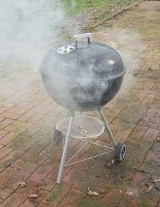 Cold Smoke Generator In Barbecue