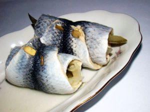 Pickled Fish Rollmops