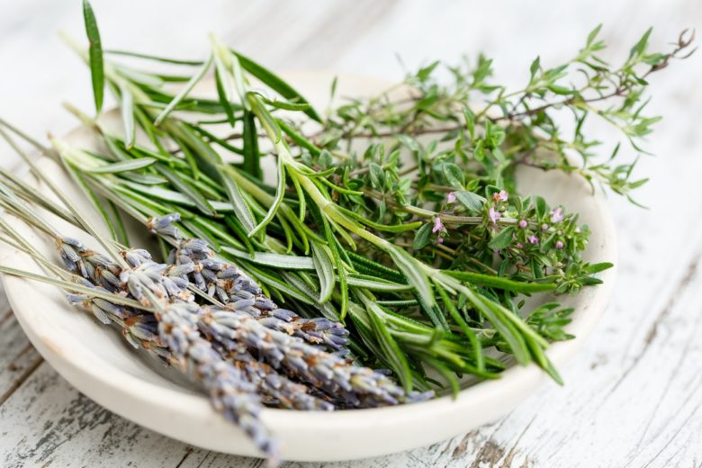 Air Drying Herbs