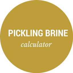 Pickling Brine Calculator