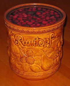 Fruit Preserved In Rum