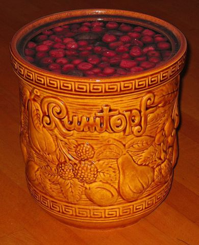 Fruit Preserved In Rum