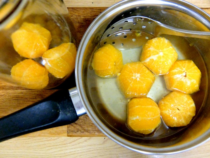 Oranges In Brandy