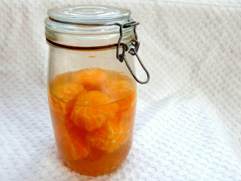 Preserved Oranges In Brandy