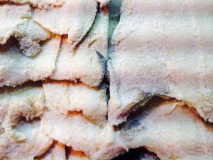 Salt Cod - Fish preserved in salt.