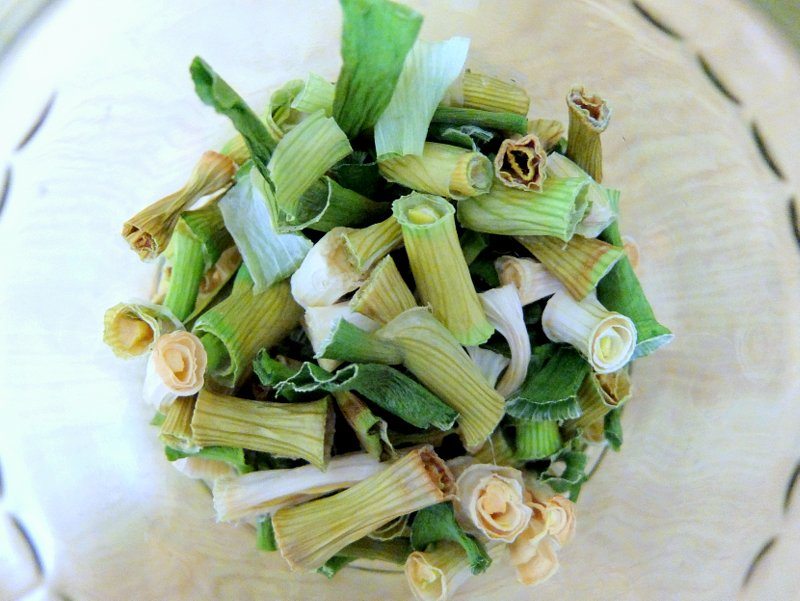 Dried Green Onions