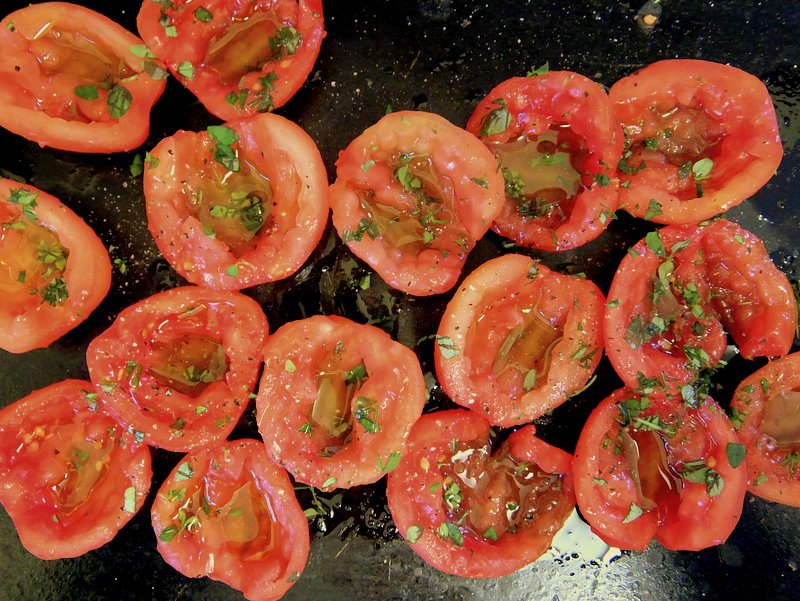 Confit Tomatoes