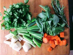 Herbs Preserved In Salt