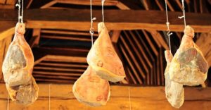 Drying Ham