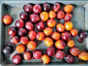 Roasted Plum Compote Recipe