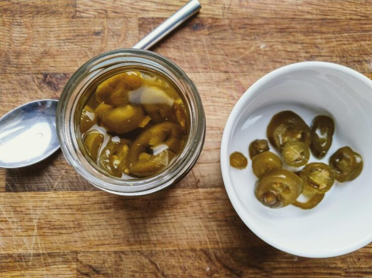 Pickled Jalapenos With Garlic
