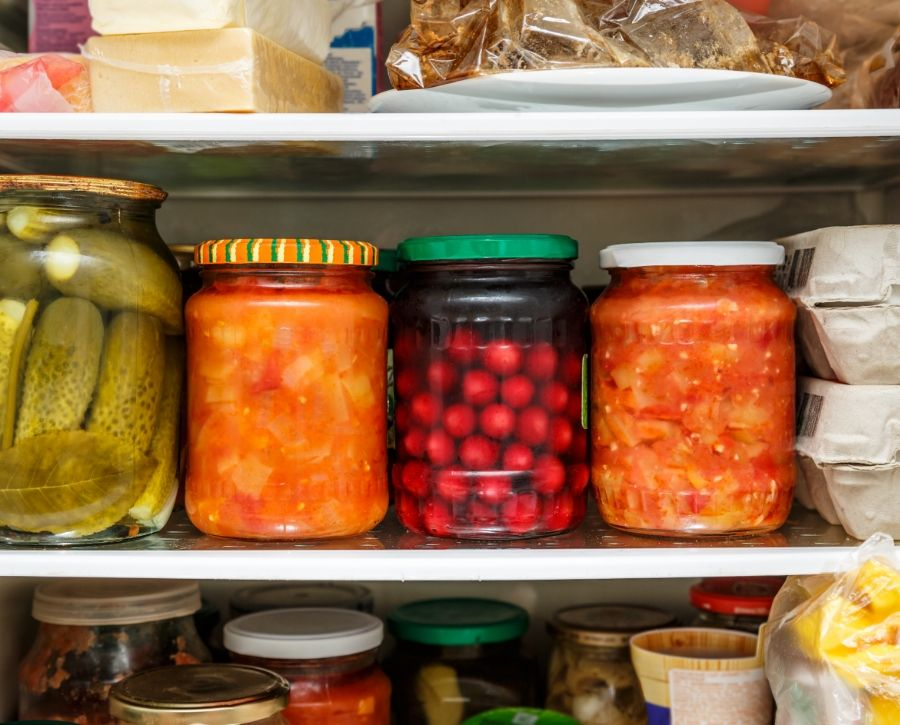 Store Pickles In The Fridge