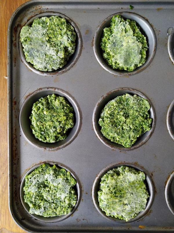 Frozen Spring Greens