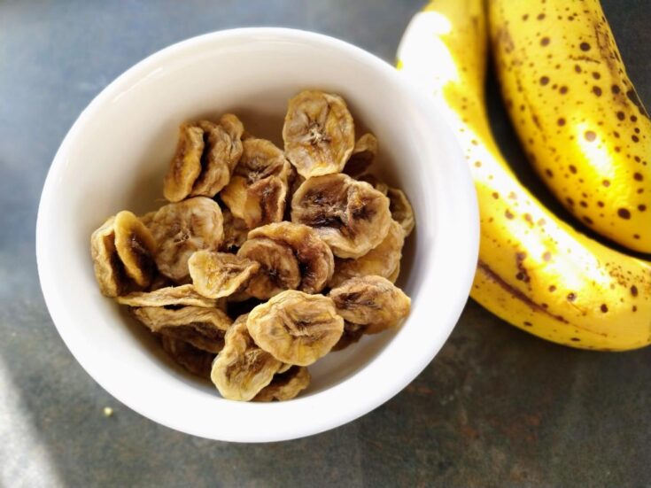 Dehydrating Banana