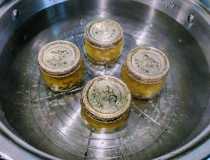 Heat Processing Melon Jam