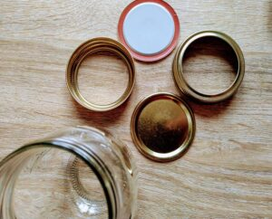 Canning Jars with 2 part lids
