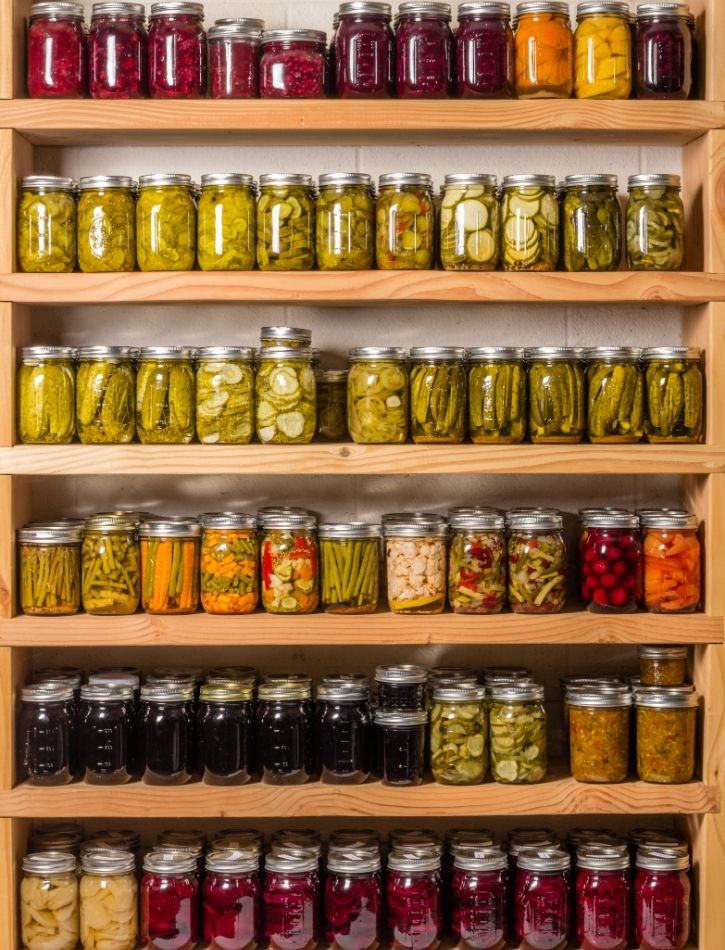 Hot Water Canned Preserves