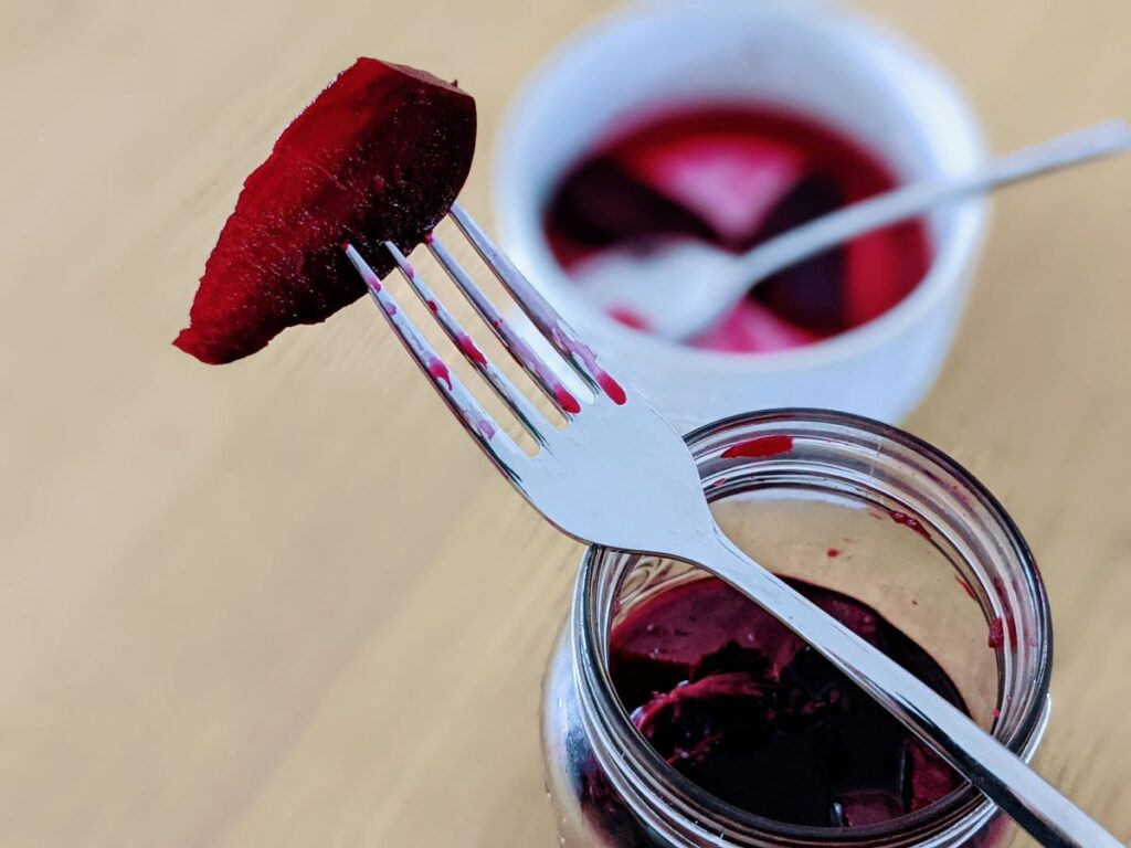 Pickled Beetroot With Red Wine